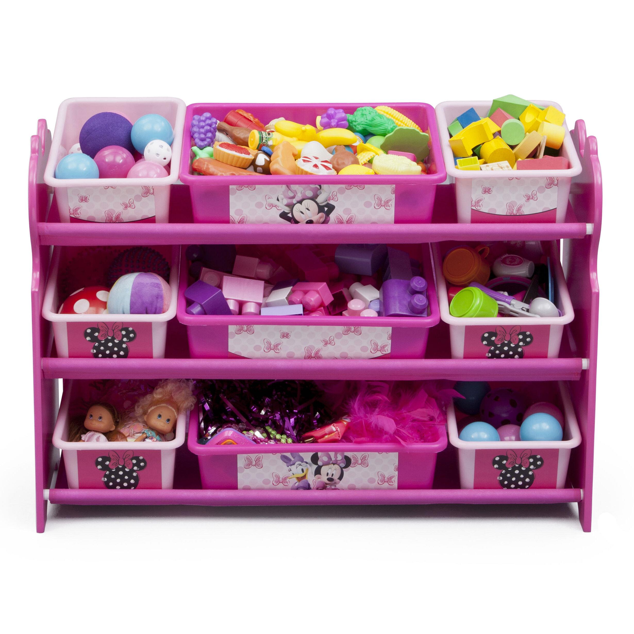 Delta Children Minnie Mouse 10 Piece Toy Organizer Set Reviews