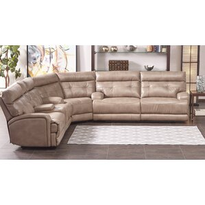 Edgerton Reclining Sectional  sc 1 st  Wayfair : reclining sectional leather - Sectionals, Sofas & Couches