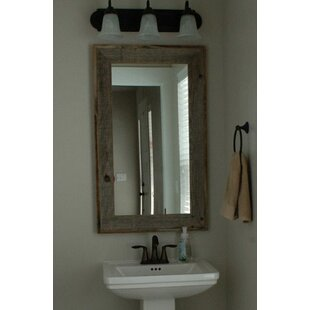 Trosper Rustic Bathroom/Vanity Mirror