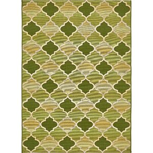 Alice Green Indoor/Outdoor Area Rug