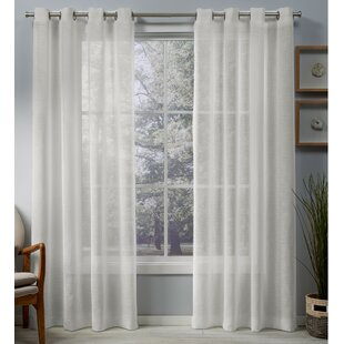 White Sheer Curtains Youll Love Wayfair