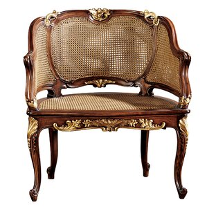 Design Toscano Louis XV French Armchair