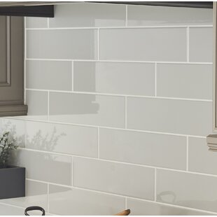 4 X 16 Ceramic Subway Tile In Glossy
