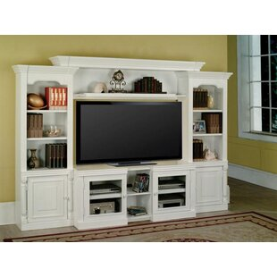 centerburg expandable entertainment center for tvs up to 60 - Media Center With Bookshelves