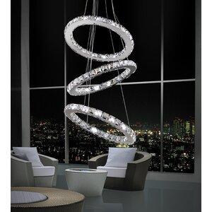Ring 54-Light Crystal Chandelier