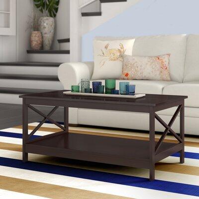 Wood Top Coffee Tables You Ll Love Wayfair