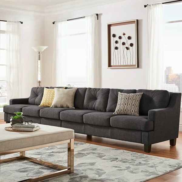 Charming Extra Long Couch | Wayfair.ca