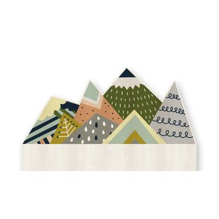 Mountains Kids Headboard by Wildon Home