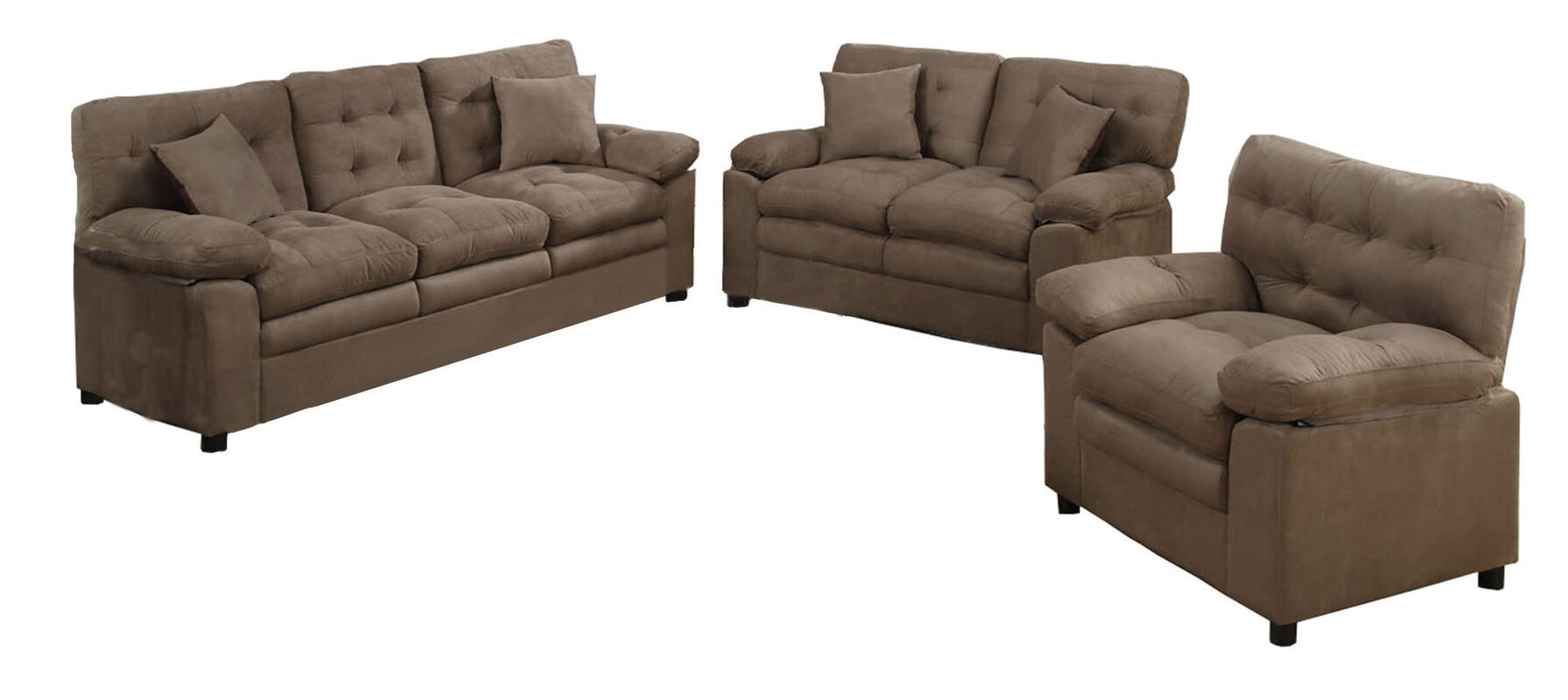 Three Piece Living Room Set Image Of Gray 3 Piece Living Room 3. AJ ...