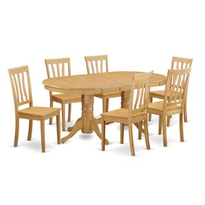 Rockdale 7 Piece Dining Set by Darby Home Co