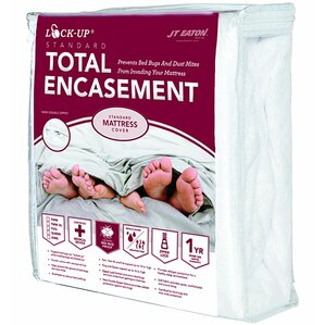 Lock-Up Total Encasement Hypoallergenic Waterproof Mattress Protector by JT Eaton