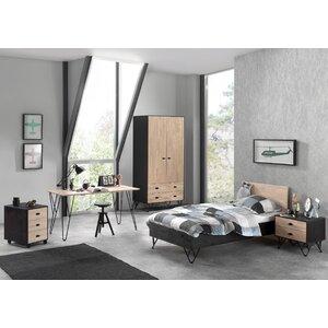 5-tlg. Schlafzimmer-Set William, 90 x 200 cm von..