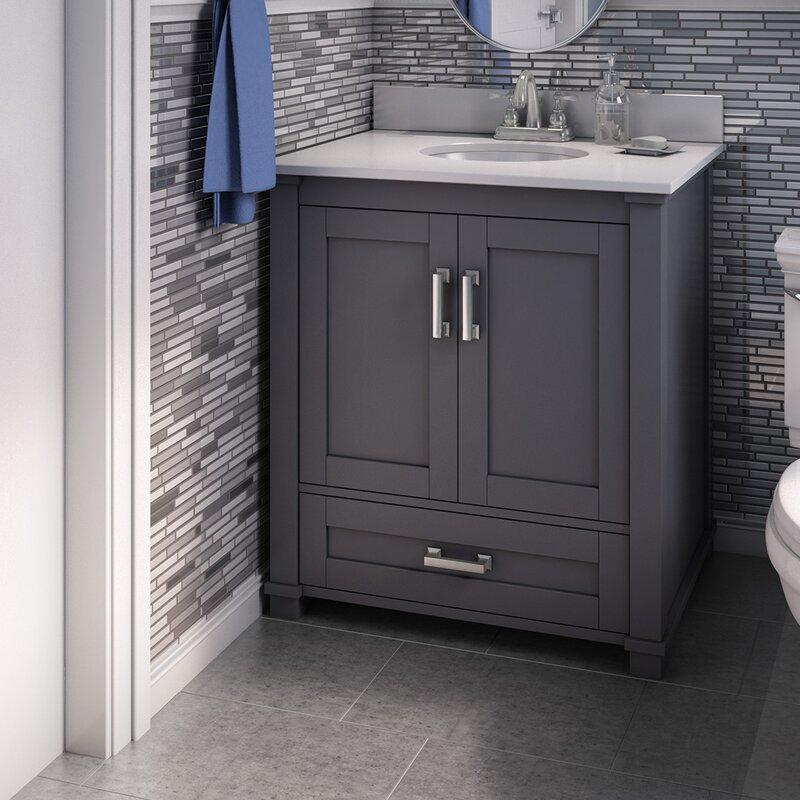 Freestanding Style 30 Single Sink Bathroom Vanity Base Only