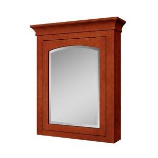 Silkroad Exclusive Freestanding Framed Medicine Cabinet