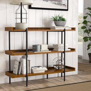 Calona Modern Etagere Bookcase