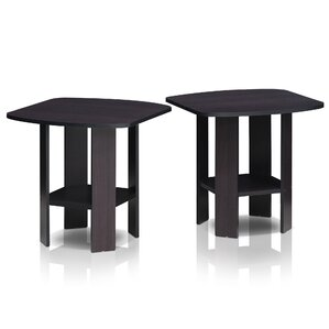 Great Simple End Table (Set Of 2)