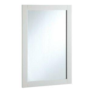 Rectangle Wood Framed Vanity Mirror