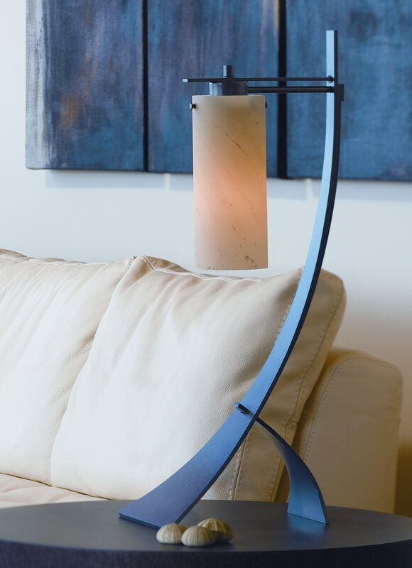 Hubbardton Forge Stasis 28 3 Quot Arched Table Lamp Amp Reviews