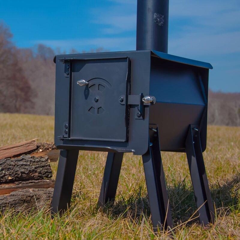 England's Stove Works Blackbear Portable Camp Wood Stove ...