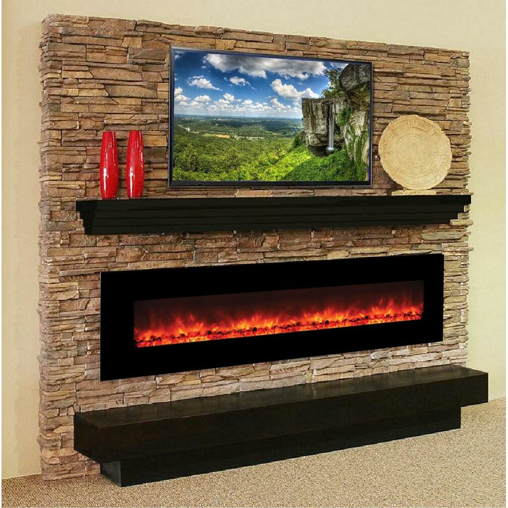 Y Decor Master Of Romance Wall Mount Electric Fireplace