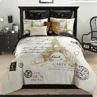Paris Themed Bedding   Wayfair