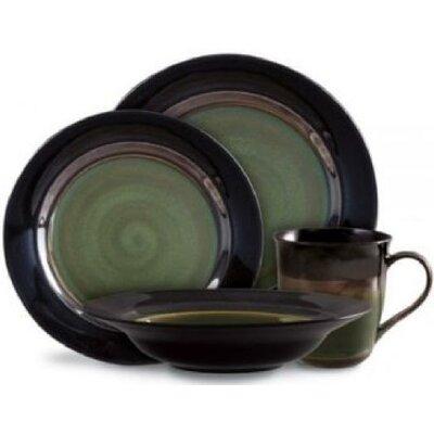 Gibson Elite 16 Piece Dinnerware Set, Service for 4 ABCHomeCollection