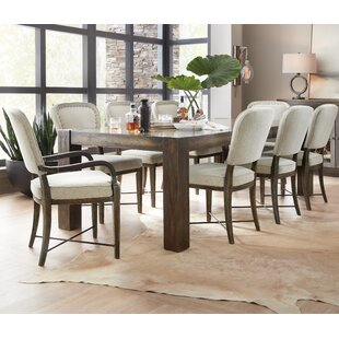 Crafted 9 Piece Extendable Dining Set