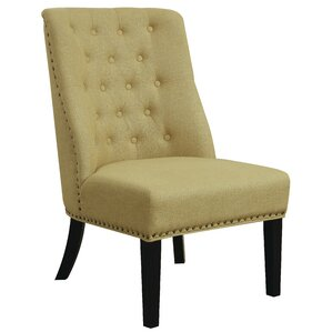 Dawson Slipper Chair by Alcott Hill