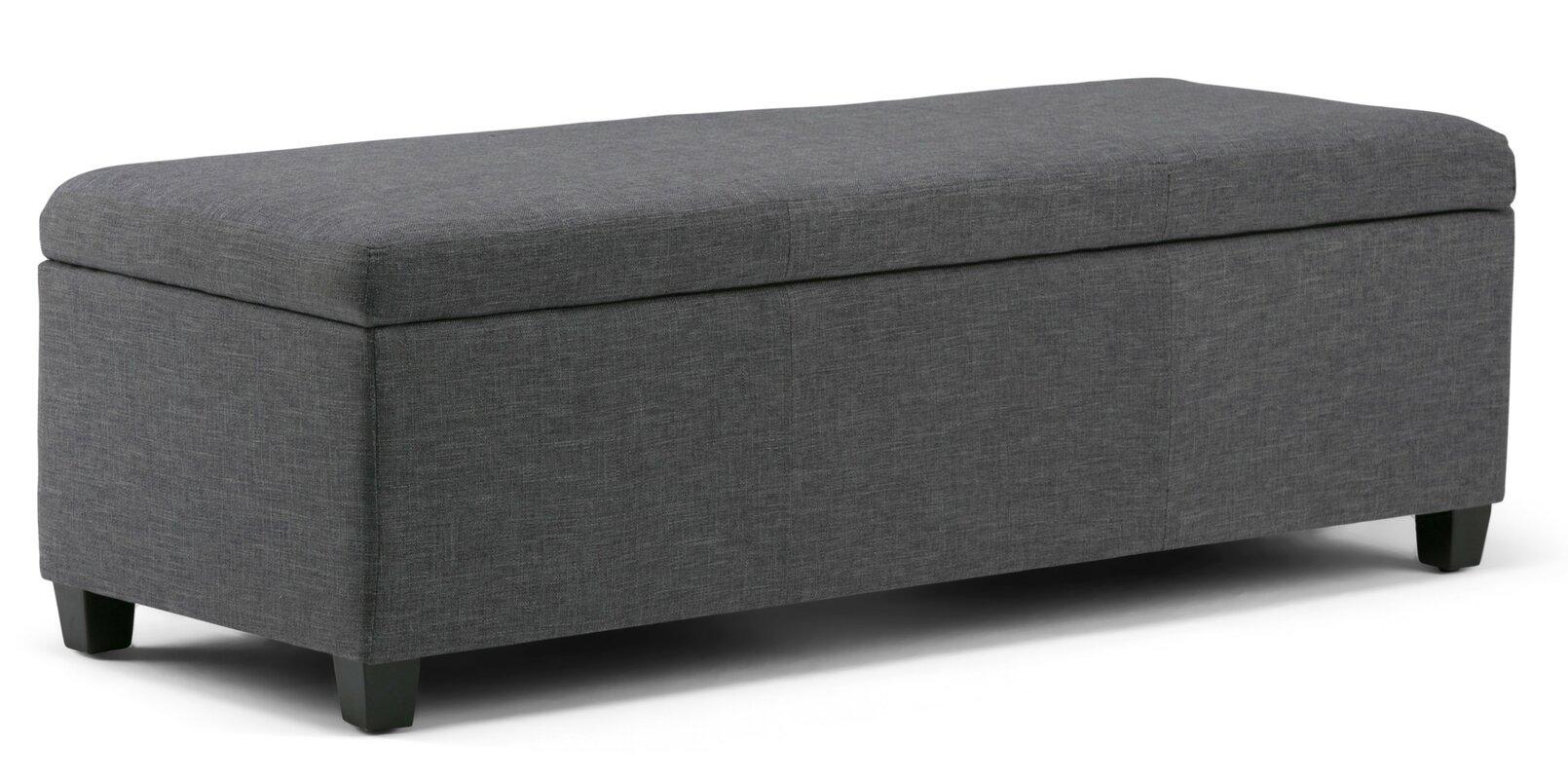 Avalon Upholstered Storage Bench