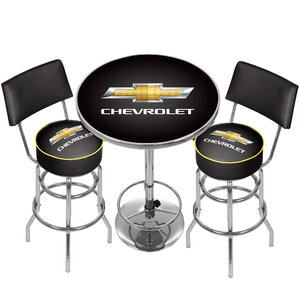 Chevrolet Game Room Combo 3 Piece Pub Tab..