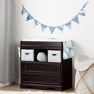 Savannah Changing Table With Little Whale Runner And Pennant Banner Gallery