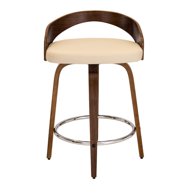 "Swivel Bar Chair latitude run victoria 24.25"" swivel bar stool & reviews | wayfair"
