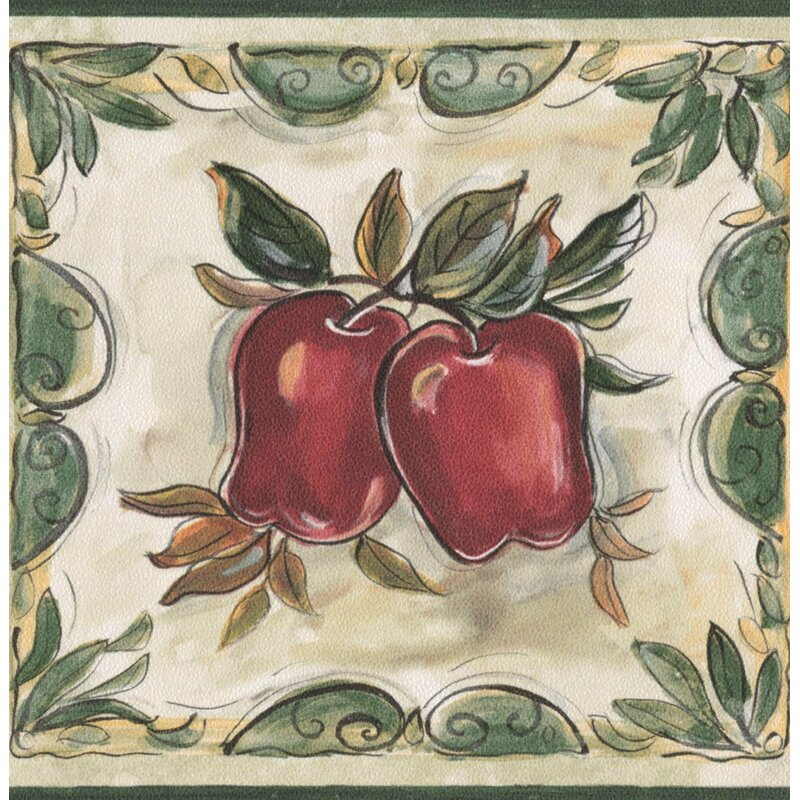 15u0027 L X 5.25u0027u0027 W Bathroom Kitchen Stylish Apples Pears Plums Cherries Retro