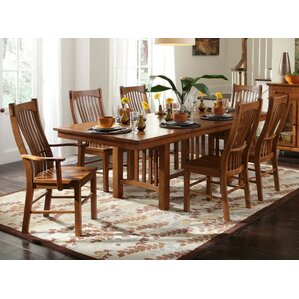 Corwin 7 Piece Dining Set by Loon Peak