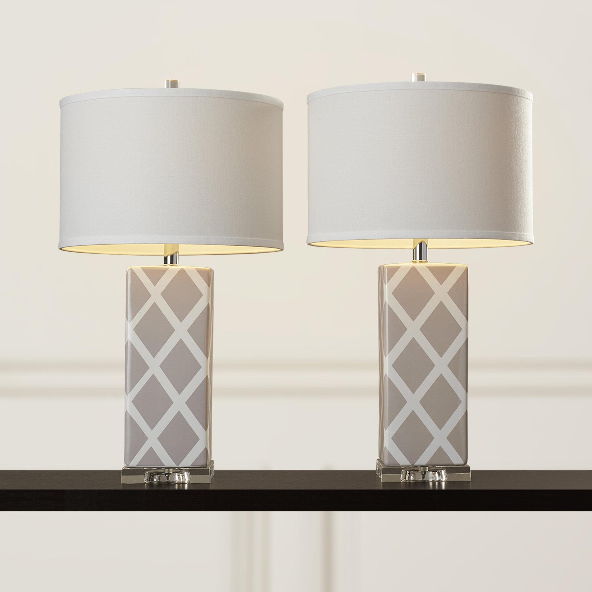 Baret table lamp set reviews birch lane