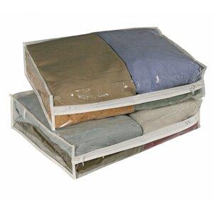 Clear Vinyl Storage Sweater Bag (Set of 2)  sc 1 st  Wayfair & Clear Storage Bags | Wayfair