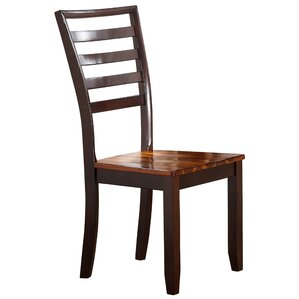 Lannon Solid Wood Dining Chair by Alcott Hill