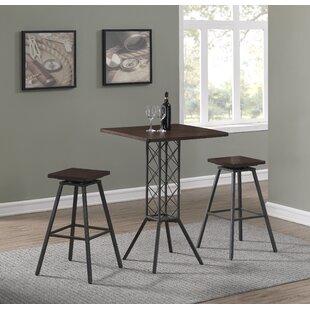 Pub Table With Wine Rack | Wayfair