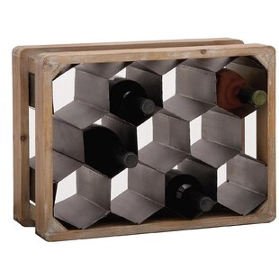 La Maison 11 Bottle Tabletop Wine Bottle Rack
