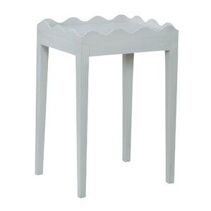 Felicien Scalloped End Table