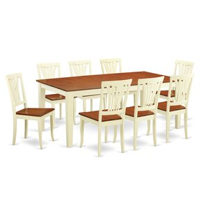 Loraine 9 Piece Dining Set by Red Barrel ..