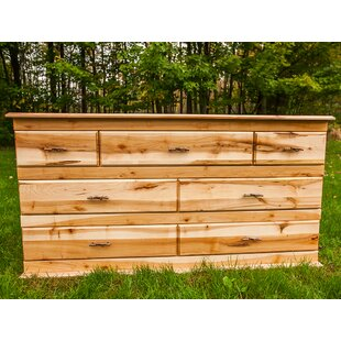 Nativ Living Mountain Maple 7 Drawer Dresser By Woods Furniture
