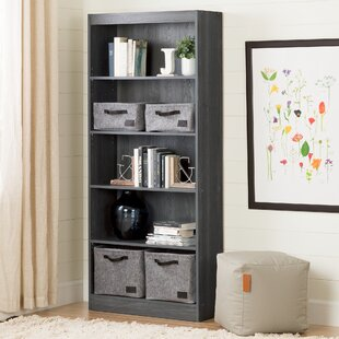 Weathered Grey Bookshelf