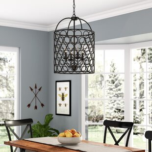 Beau Nyyear 4 Light Lantern Chandelier