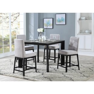 Thrash 5 Piece Counter Height Dining Set