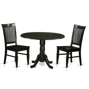 Black Kitchen & Dining Room Sets You\'ll Love | Wayfair