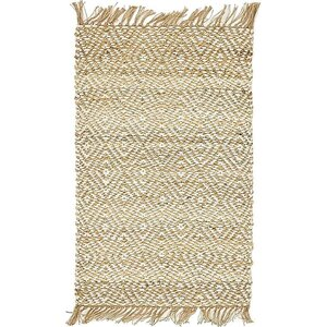 Deziree Hand-Braided Natural Area Rug