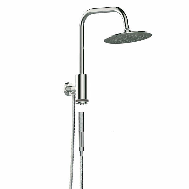 Pulse Shower Spas Aquarius Rain Diverter Complete Shower System ...