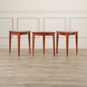 Apple Valley Cabinet End Table (Set of 3) by Charlton Home