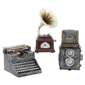 Nostalgic 3 Piece Decor Sculpture Set